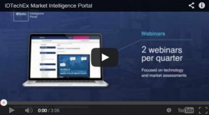 IDTechEX - Market Intelligence Portal