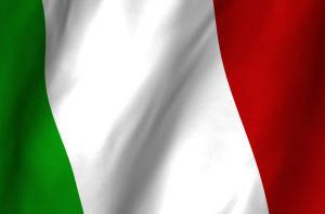 Italian flag - photo