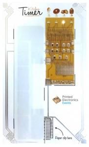 PragmatIC printed kitchen timer is flexible