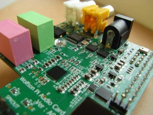 Wolfson audio Hi-Fi board for Raspberry Pi