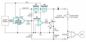 Maxim 4-20mA sensor reference design