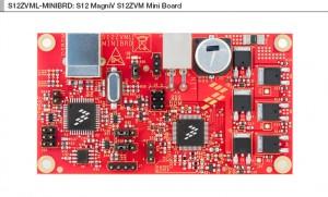 Farnell Freescale S12ZVML-MINIBRD motor control kit