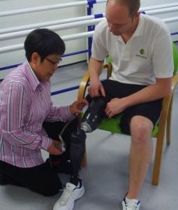 Southampton sensor for artificial limbs