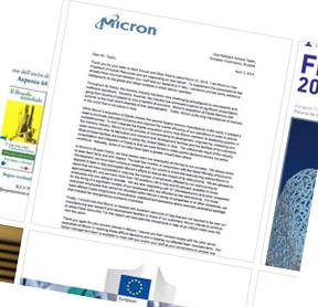 Micron letter to EC vice president Antonio Tajani - Facebook