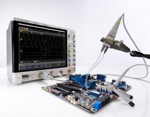 osciloscopio moderno de Agilent
