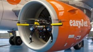 Drones inspect Easyjet fleet