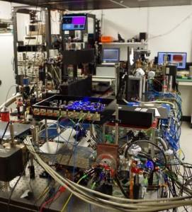 University of Birmingham strontium atomic work bench