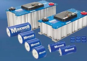 Maxwell Technologies supercapacitors