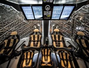 SpaceX - Dragon V2 - inside
