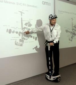 A demo of AMS motor control