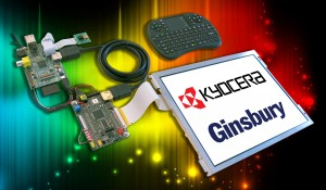 Kyocera Display Universal Demo Kit with Raspberry Pi