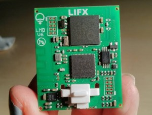 Lifx board hacked by Context
