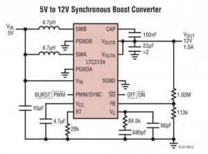LTC3124 circuit