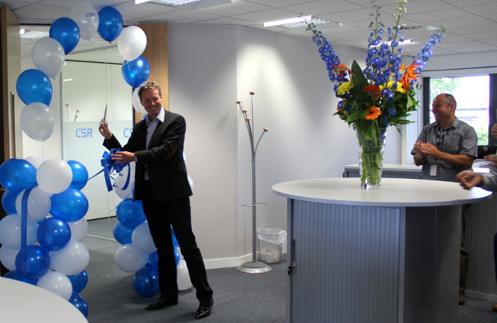 CSR opens new R&D centre in Bristol