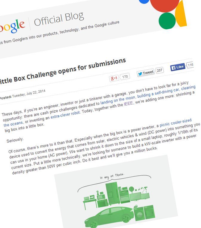 Google little box challenge