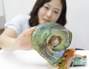 LG 18inch rollable display
