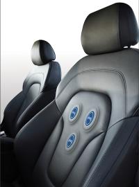 Plessey EPIC sensing car seat