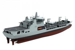 Tide class tanker Crown copyright MoD