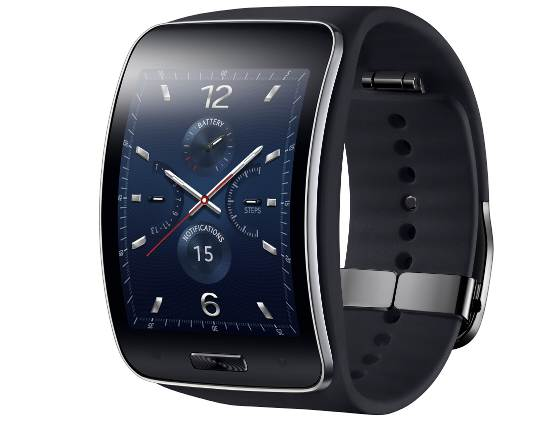 Samsung Gear S curved OLED