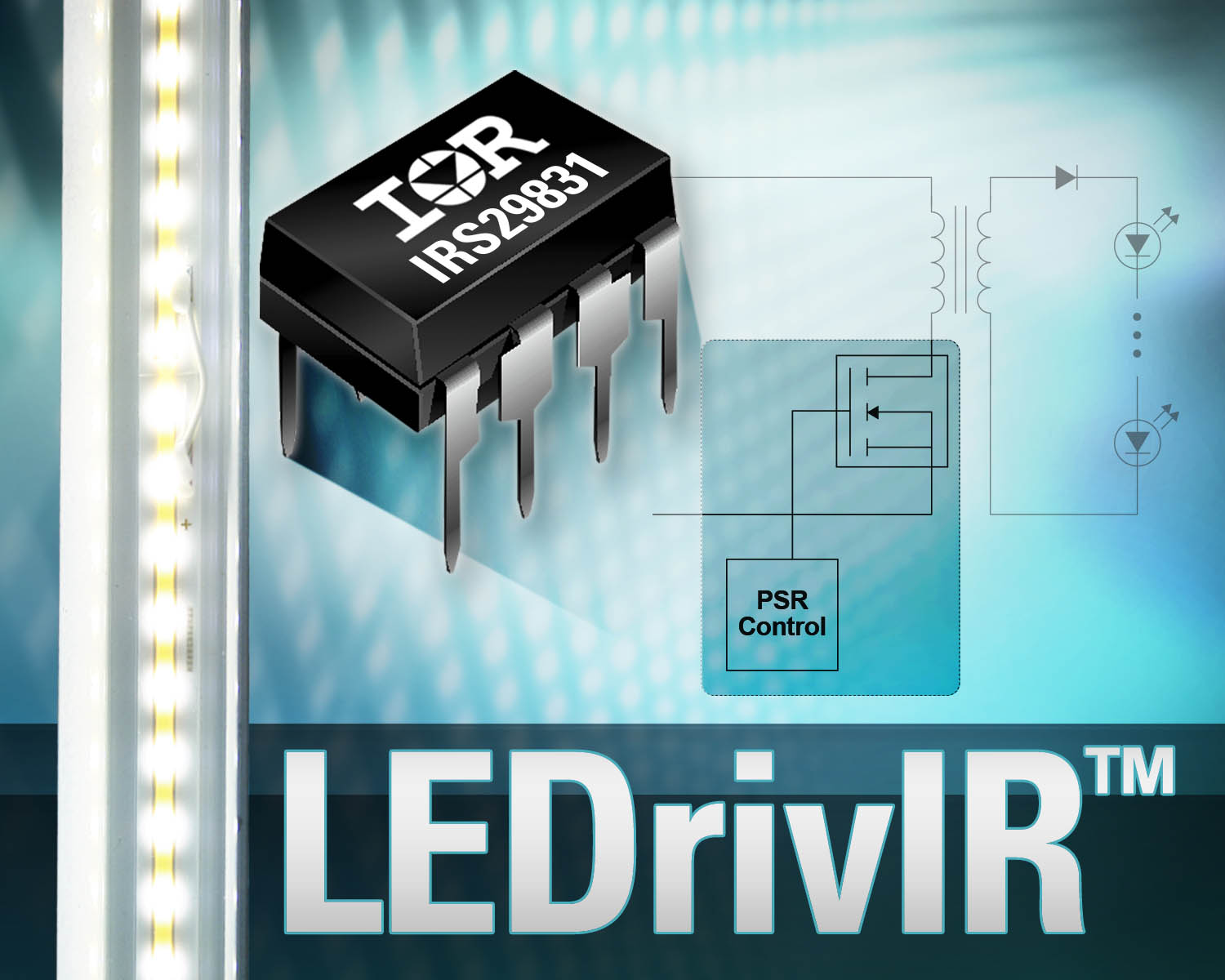 Led Chip Aims For Bulb Replacements Power Driver Circuit International Rectifier Is Supporting Single Stage Flyback And Buck Boost Topologies In Designs Replacement Tube Lighting