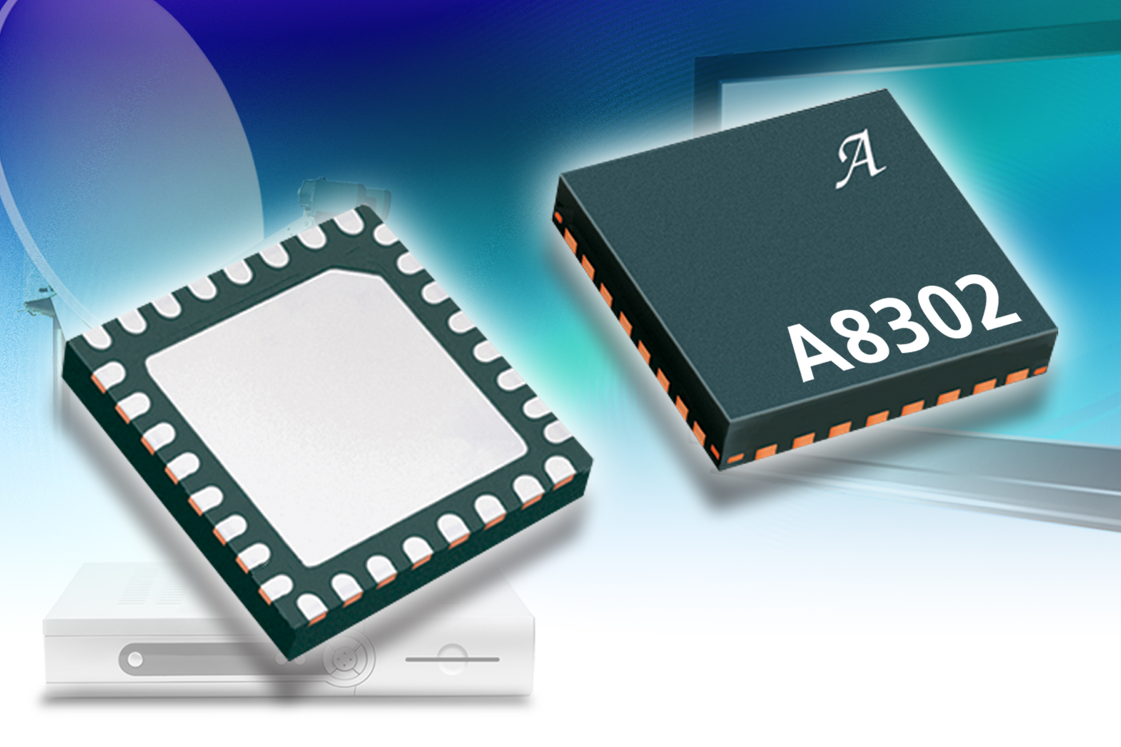 Low Noise Block Regulator Ics Power A Down Converter For Tv Tone Control Circuit Schematic Electronics With Monolithic Switching And Linear Voltage The A8302 Dual Lnb Ic Has Boost Switch Compensation Circuitry Integrated Inside