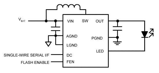 Micrel MIC2874 LED flash driver