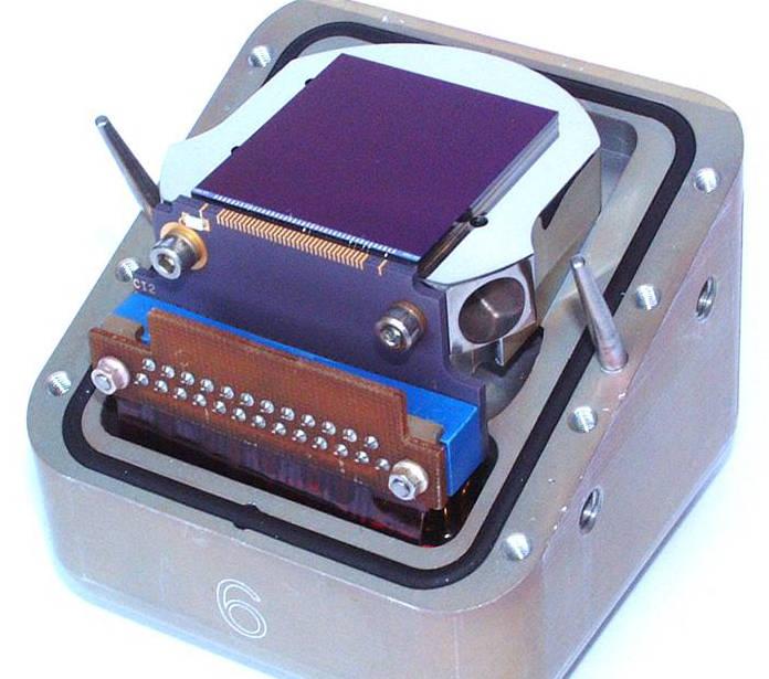 E2V space-grade CCD
