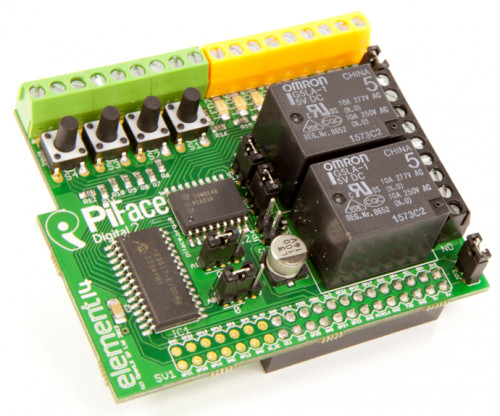 Raspberry Pi PiFace Digital 2