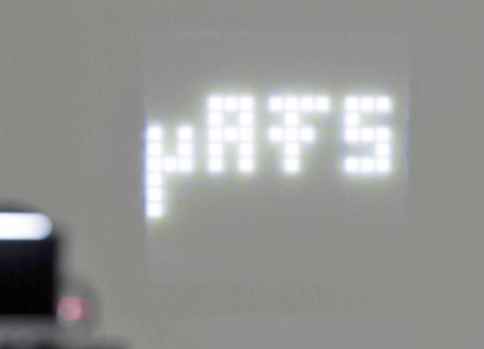 Osram LED matrix headlamp beam