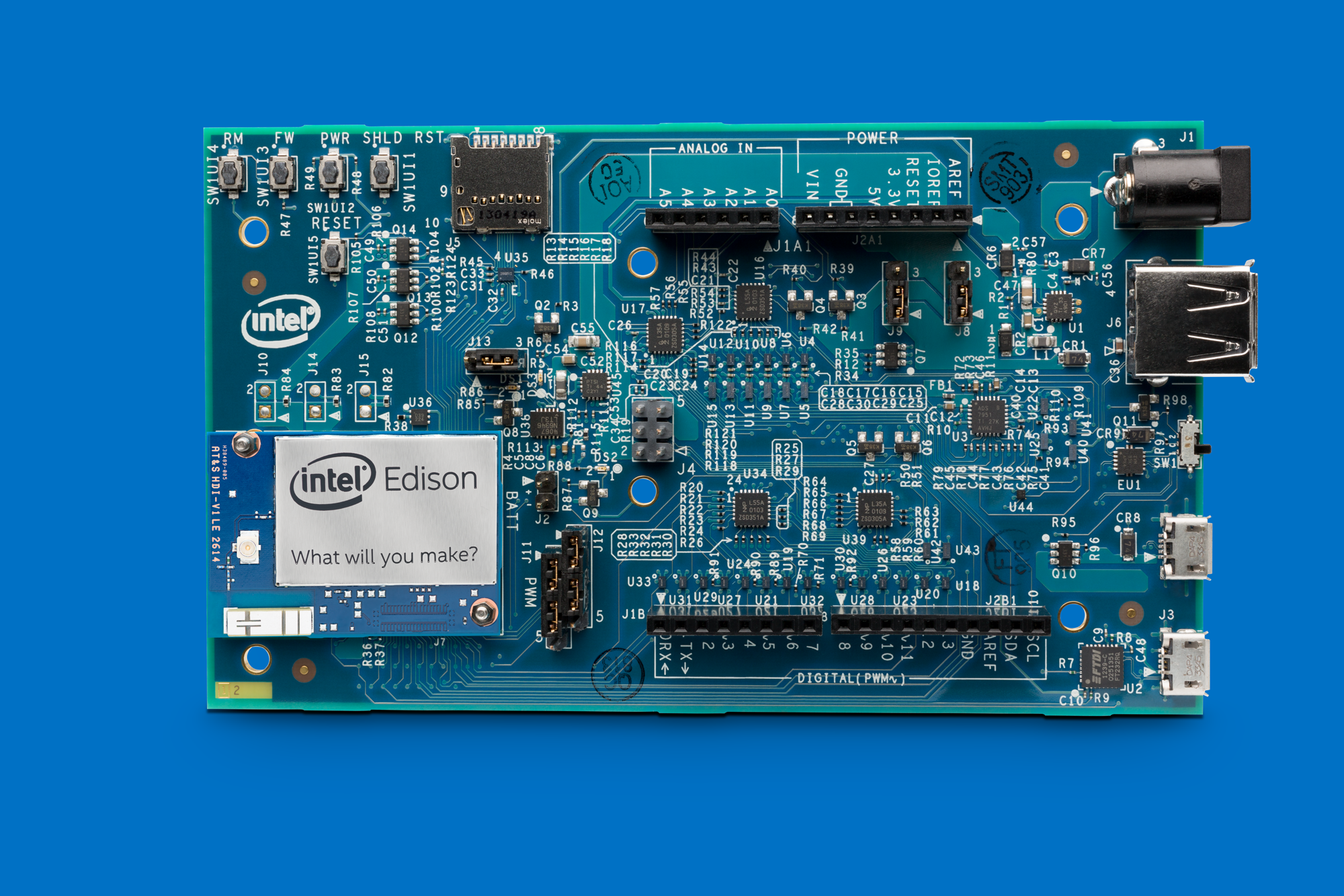 Intel Edison Arduino Maplin N37EA - YouTube
