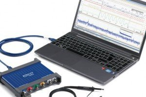 PicoScope 3400 and laptop