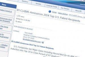 IFI patents