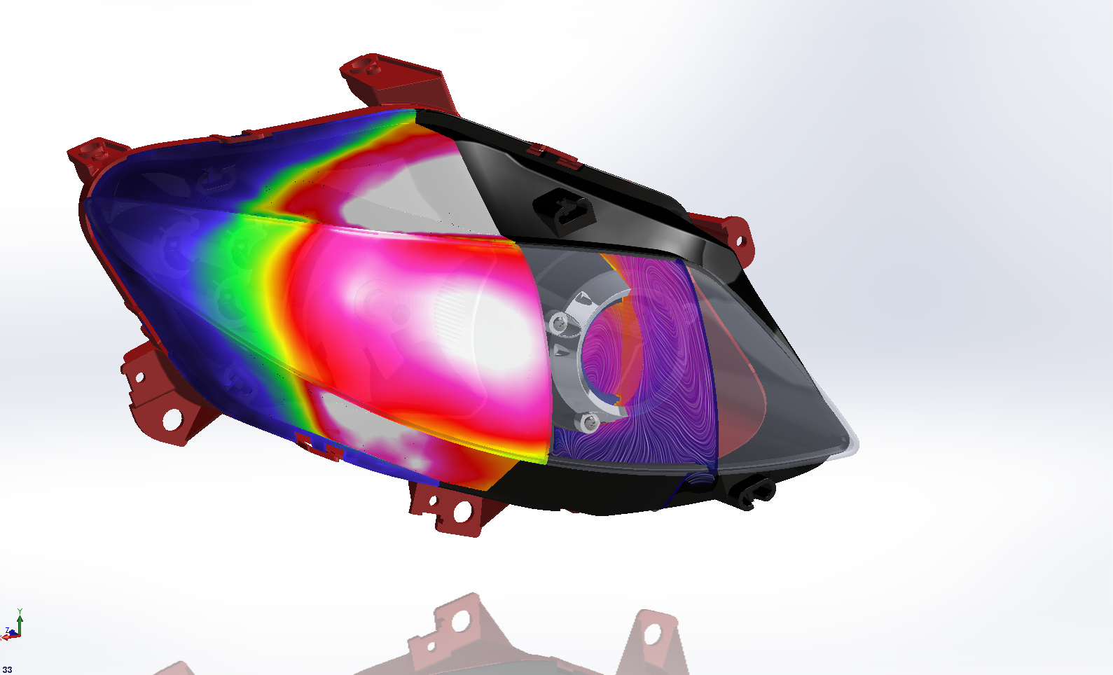 Led Car Headlight Design Can Benefit From Thermal