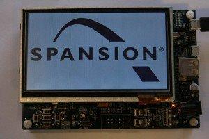 Spansion - SK-FM4-216-Ethernet starter kit board
