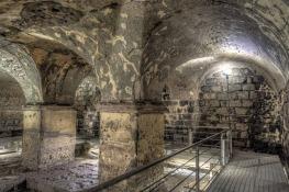 Achillian baths in Sicily lit by Osram