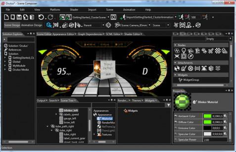 Socionext S Cgi Studio Supports Opengl Es 3 0
