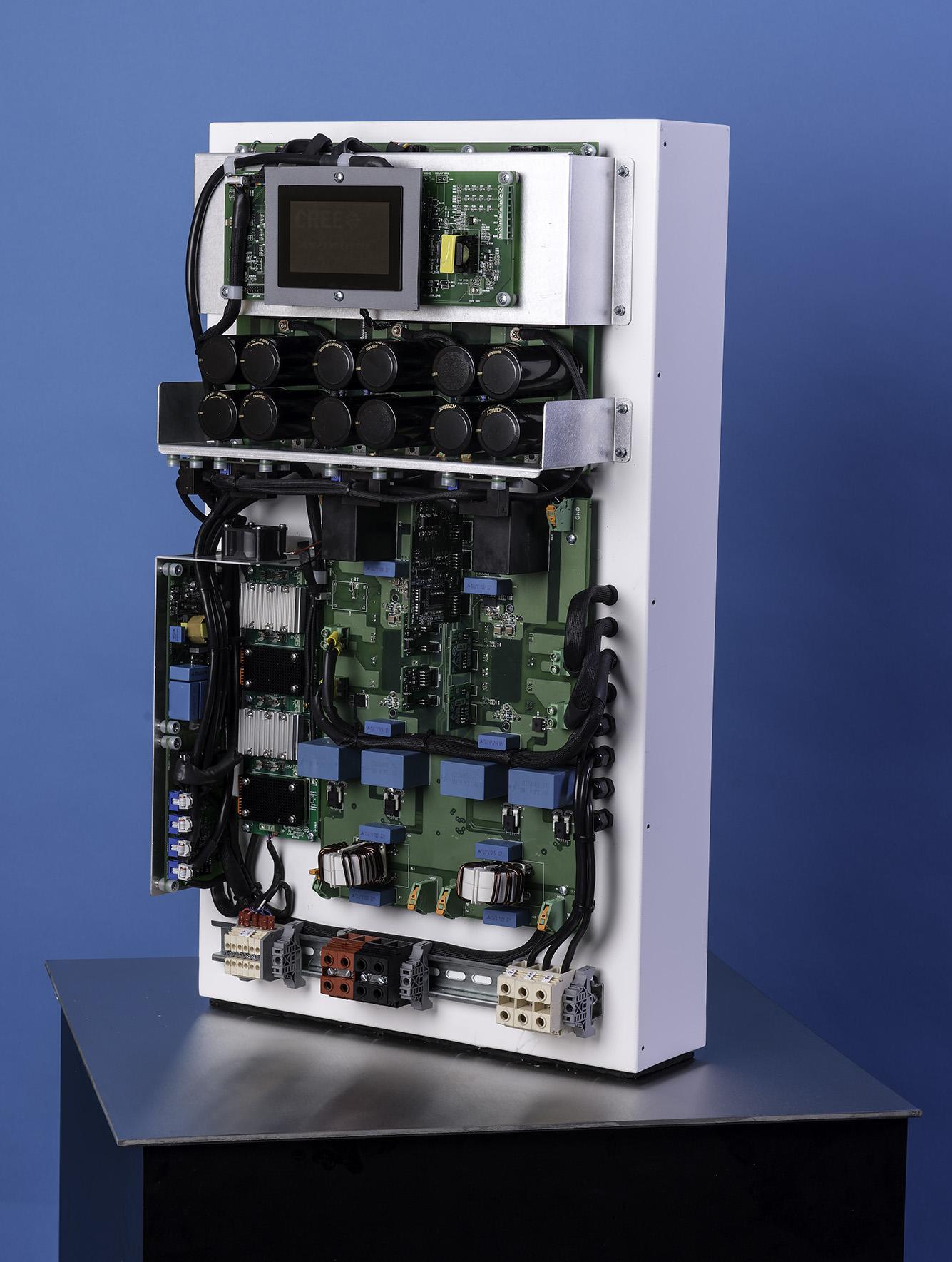 Pcim Sic Makes 99 1 Efficient Solar Inverter