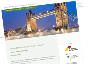German-British Civil Security Industry Conference