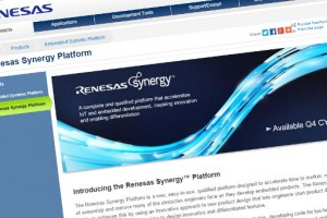 Renesas Synergy based on Cortex-M MCUs