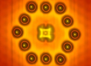 US Navy single electron transistor