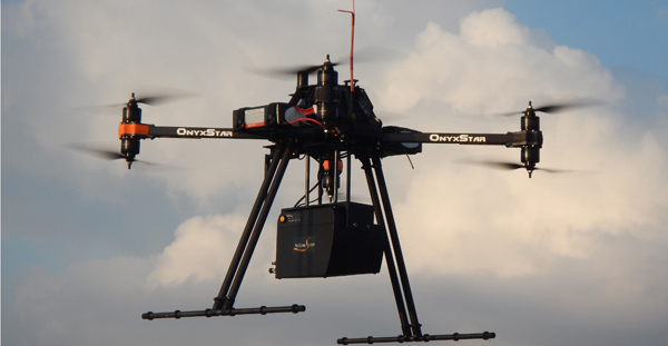 Lidar Fits Drones For Surveying