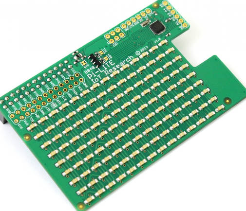 9x14 red LED matrix for Raspberry Pi