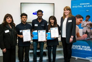 PIC Newham College - Samsung - Employers - students