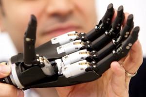 Leeds University bionic hand detail