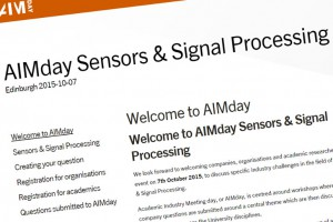 AIMday for sensors