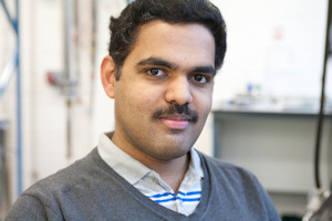 Dr Rahul Nair, a graphene membrane specialist at the University of Manchester