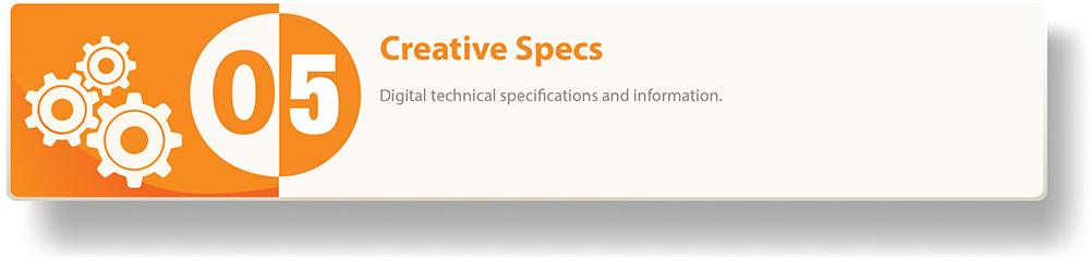 Creative Specs