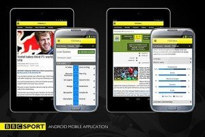 BBC SPort Android mobile app
