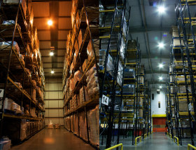 case study led lighting saving food warehouses energy and costs