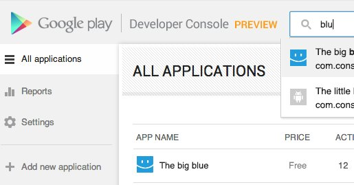 Google polishes its play developer console - Google developer console ...